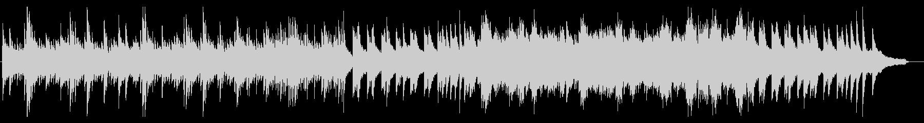 クラシック系 幻想的 ピアノソロの未再生の波形
