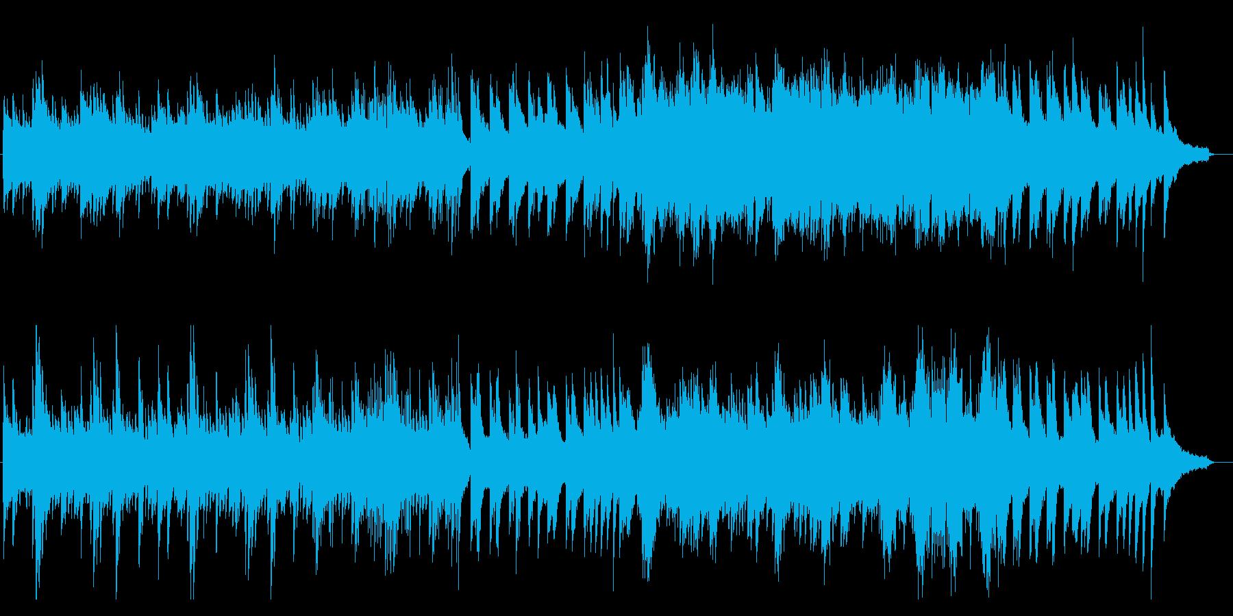 クラシック系 幻想的 ピアノソロの再生済みの波形