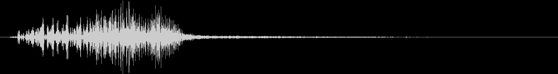 音楽効果;短いシンセサイザーボタン。の未再生の波形