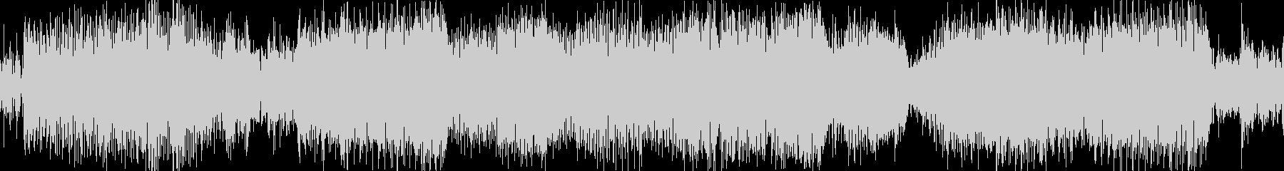 カオスでミステリアスなテクノ曲の未再生の波形