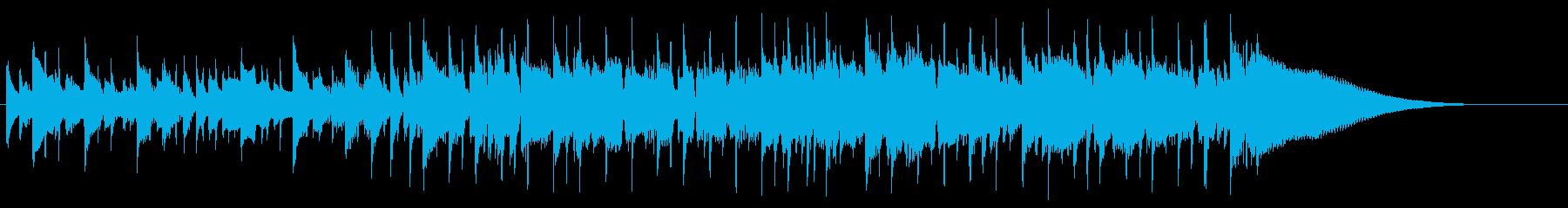 動画 感情的 静か 楽しげ ハイテ...の再生済みの波形