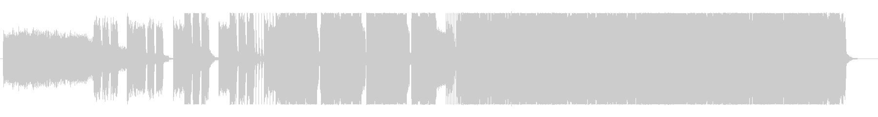 HR/HMインストの未再生の波形