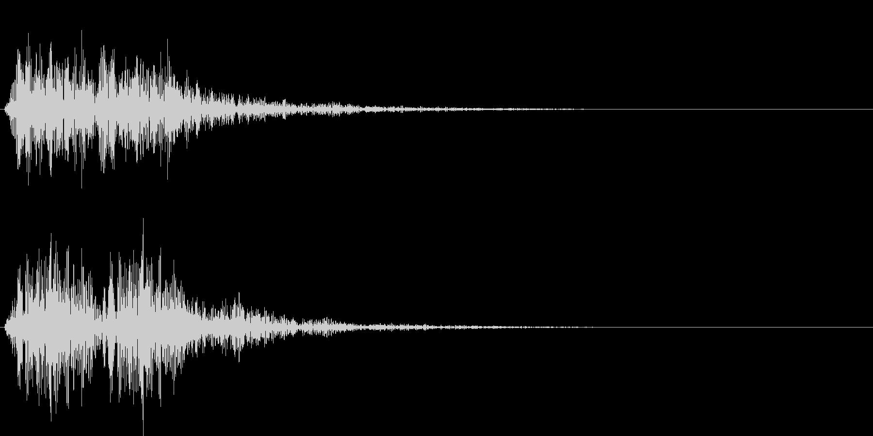 ボワンボワン(敵の群れ出現)の未再生の波形
