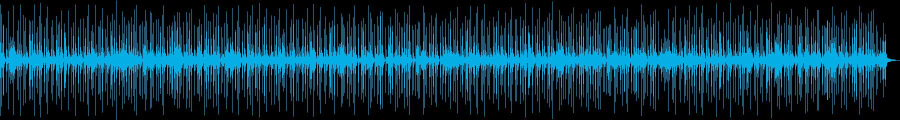 喋り動画用_お洒落なドラムソロBGMの再生済みの波形