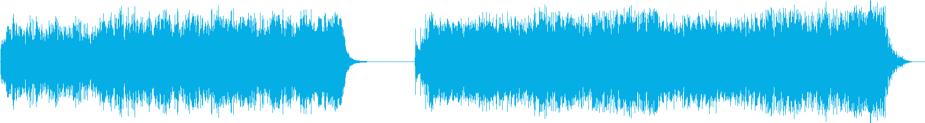 疾走感あふれるバトル系bgm 2の再生済みの波形