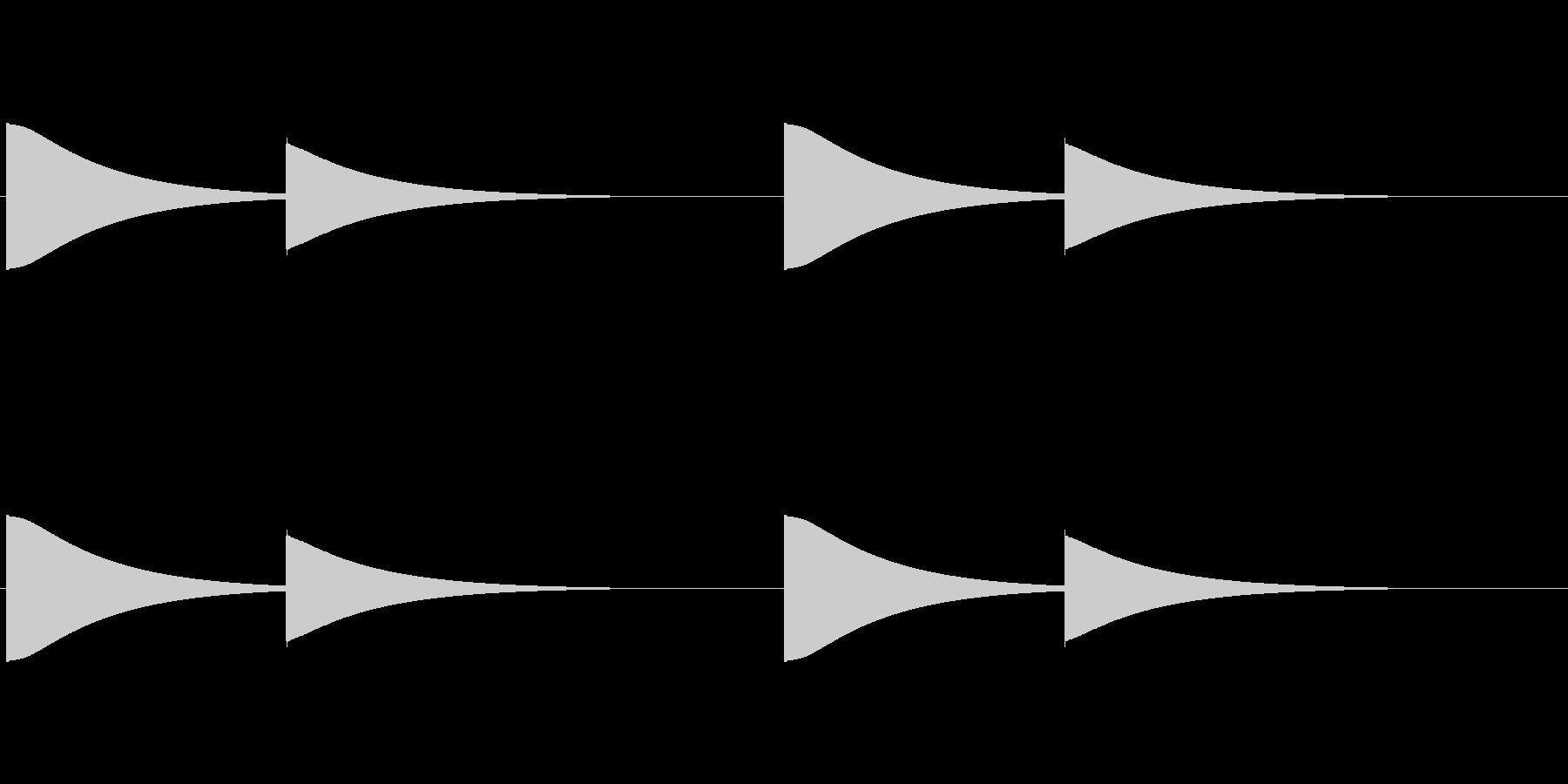 【改札 誘導音01-4L】の未再生の波形