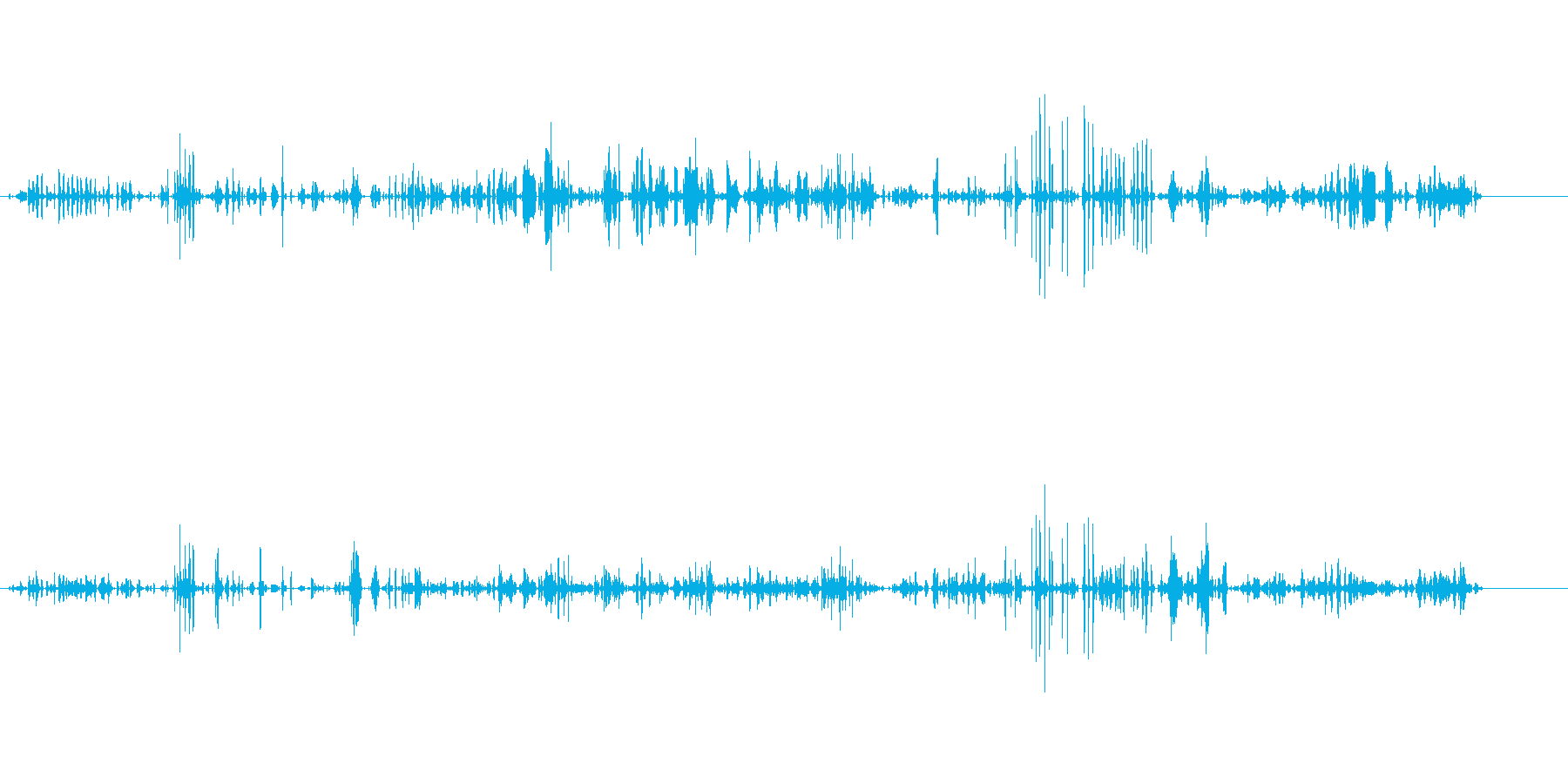ビープ音;コンピュータのビープ音と...の再生済みの波形