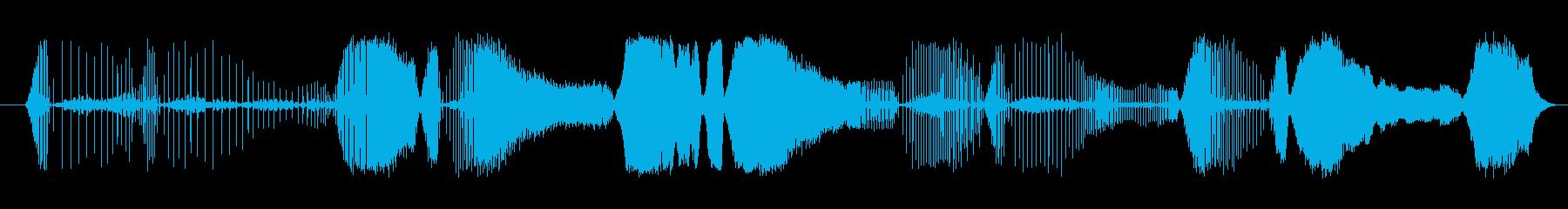 ノイズ ジューシーラトルシーケンス...の再生済みの波形