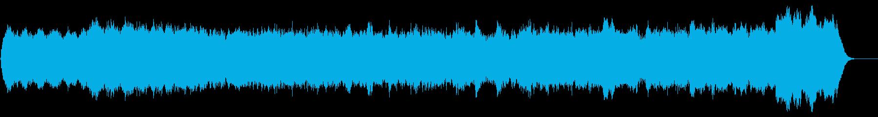 パイプオルガンオリジナル曲バッハ風です。の再生済みの波形