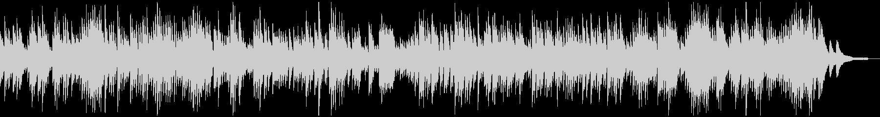 バッハ_インヴェンション第9番_ピアノの未再生の波形