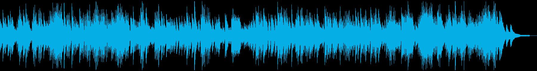 バッハ_インヴェンション第9番_ピアノの再生済みの波形