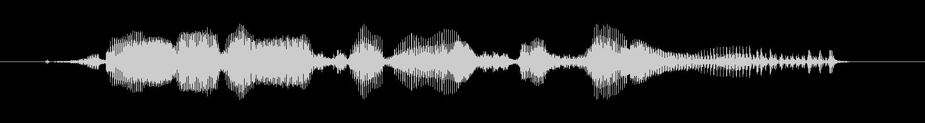 ポリメラーゼ連鎖反応-PCRの未再生の波形