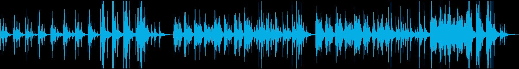 ピアノソロ:サビ1分41秒:癒し、光の再生済みの波形