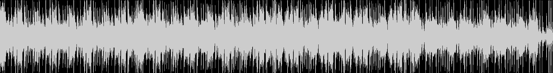 【1分】ダンス・アメコミ系ファンクBGMの未再生の波形