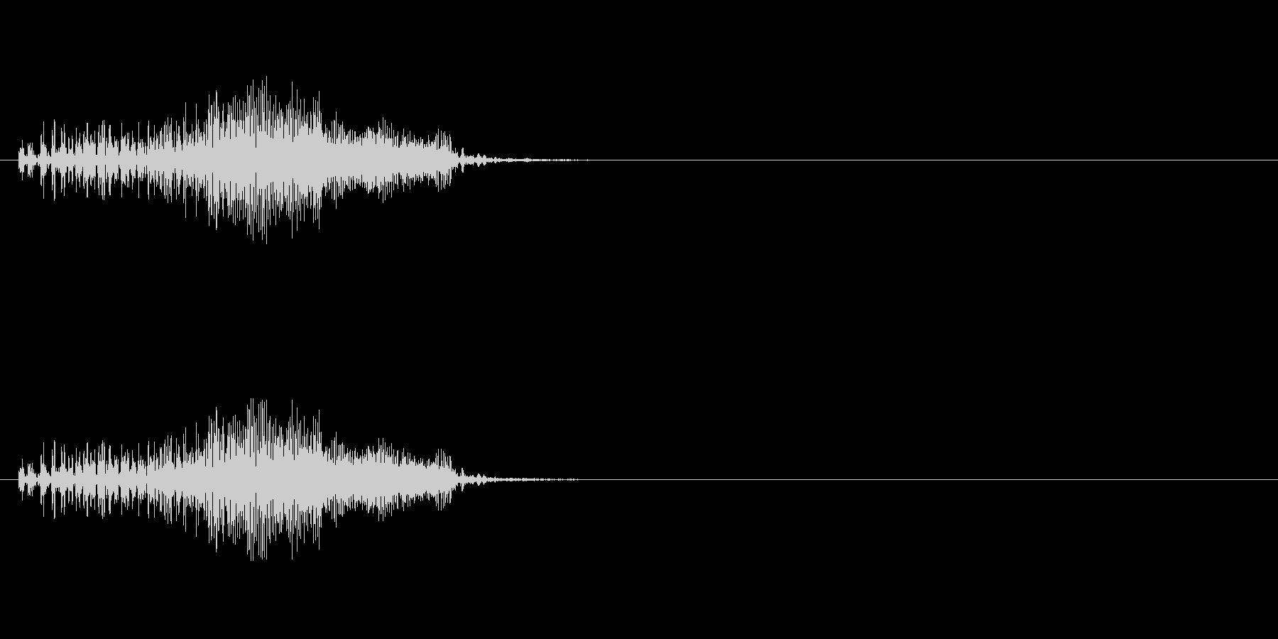 【ジッパー01-2】の未再生の波形