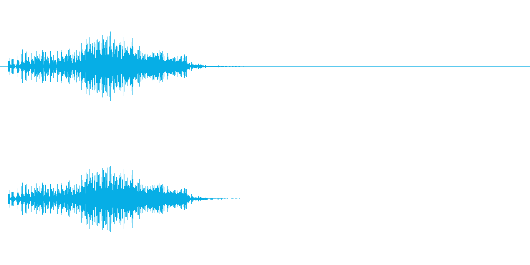 【ジッパー01-2】の再生済みの波形