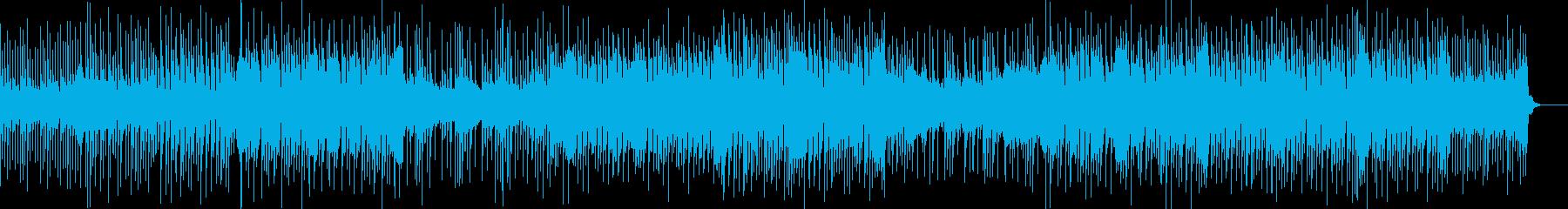 切なくも美しいメロディが印象的なBGMの再生済みの波形
