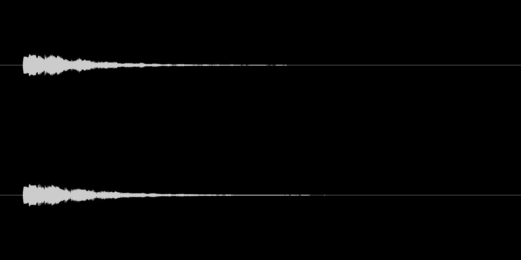 【ショートブリッジ18-2】の未再生の波形