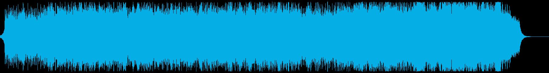 のどかで雄大なチェロのオリジナル曲の再生済みの波形