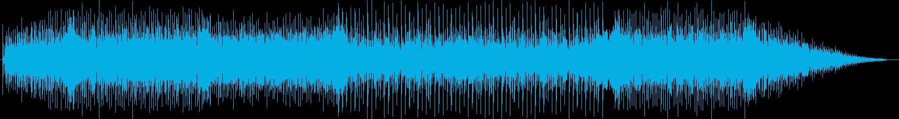 ニュースに流れるようなBGMの再生済みの波形