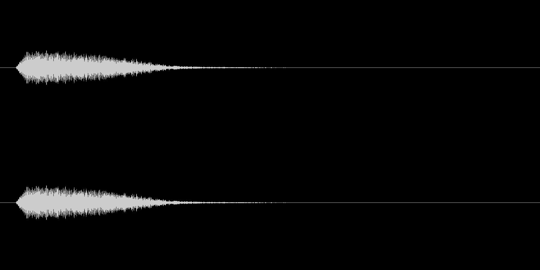 【光る03-3】の未再生の波形