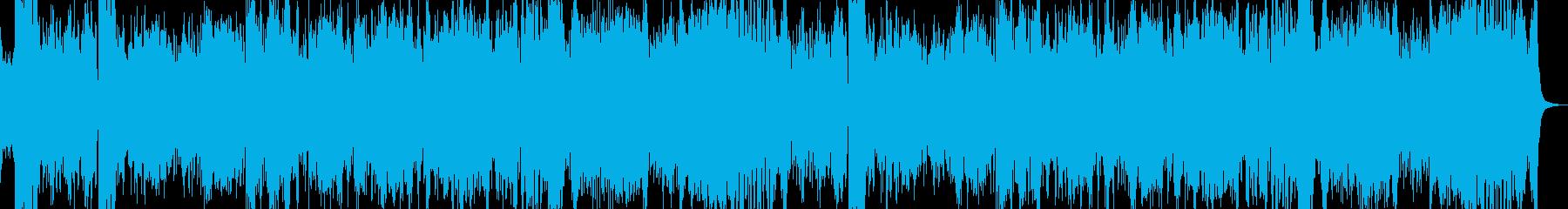派手な剣舞曲の再生済みの波形
