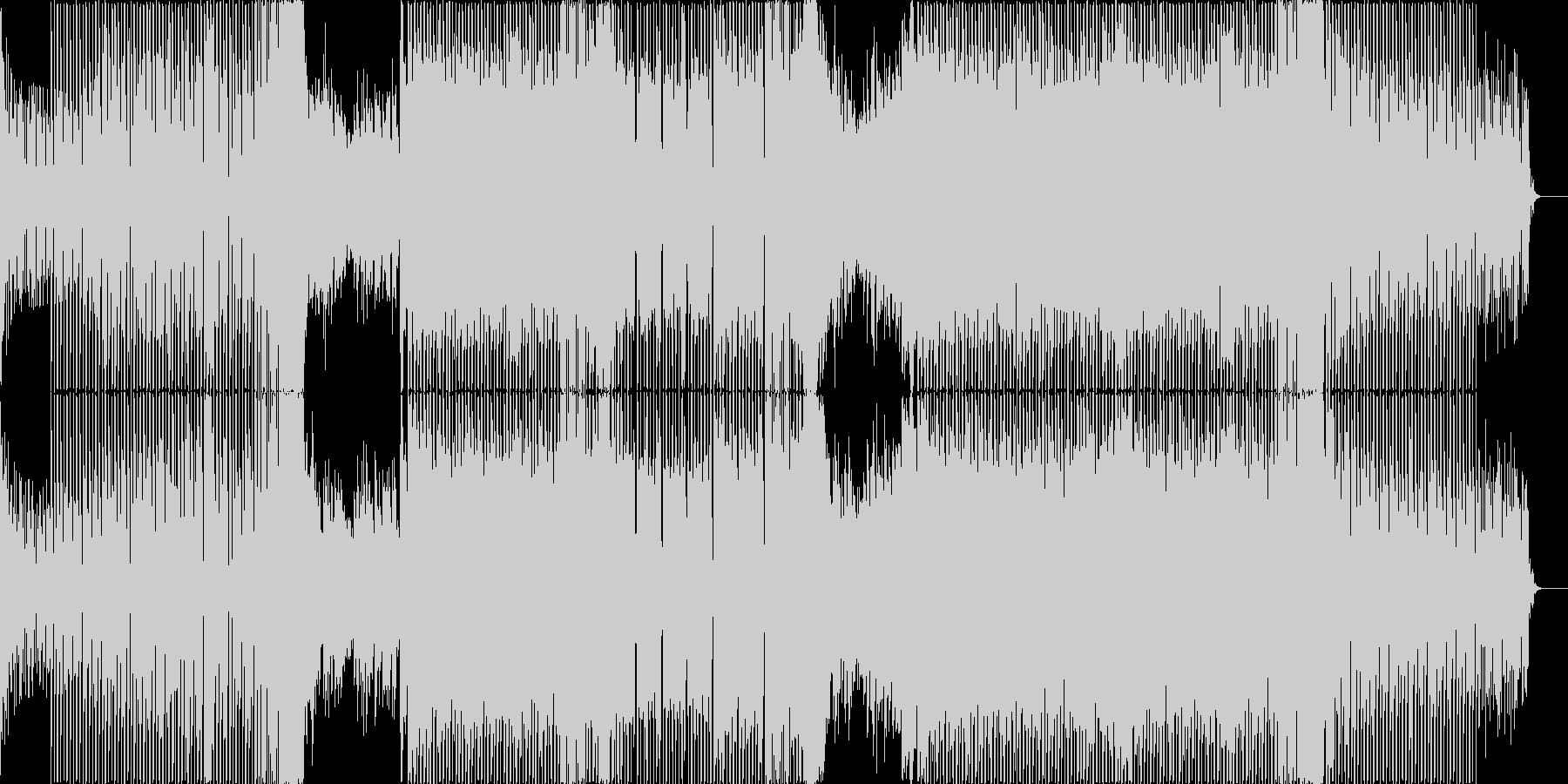 オールドラングサイン/蛍の光EDMカバーの未再生の波形