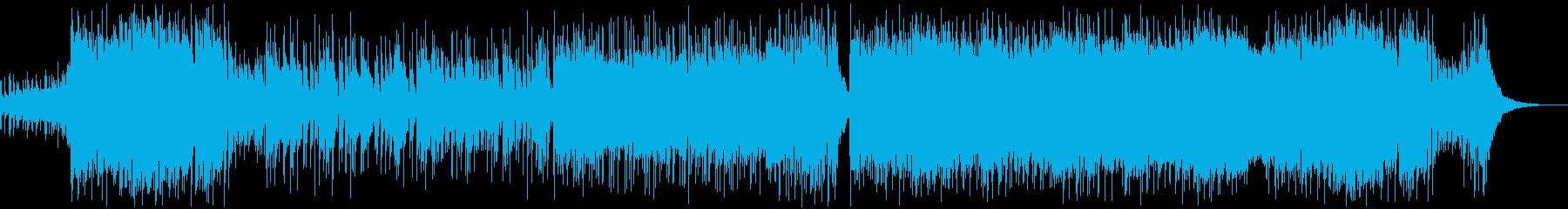 熱い縦ノリなロックの再生済みの波形