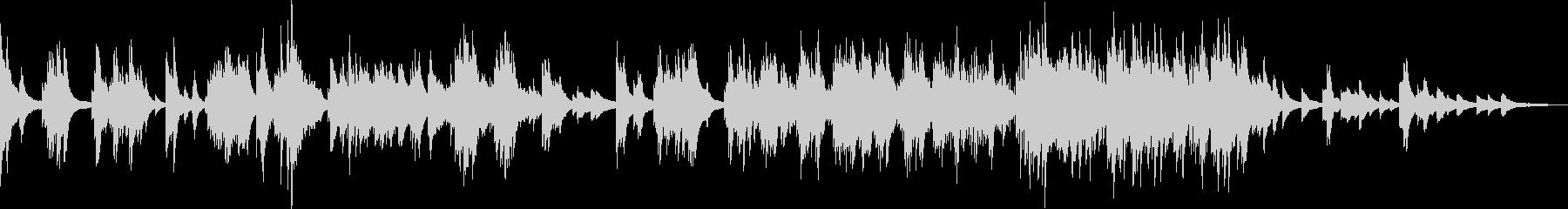 悲劇的なピアノ曲(悲しい・暗い・絶望)の未再生の波形