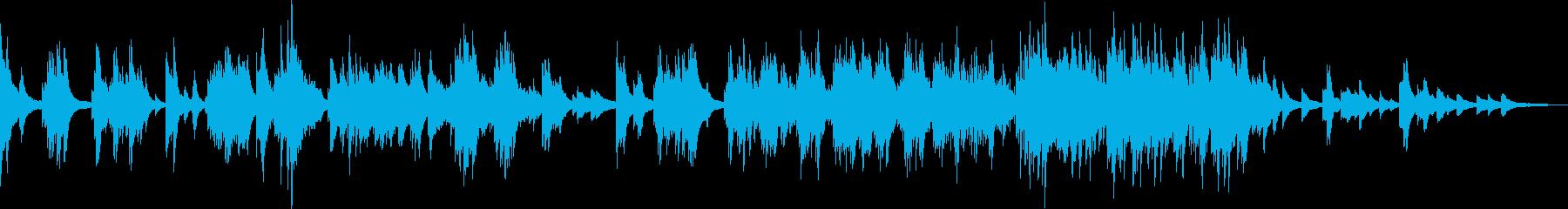 悲劇的なピアノ曲(悲しい・暗い・絶望)の再生済みの波形