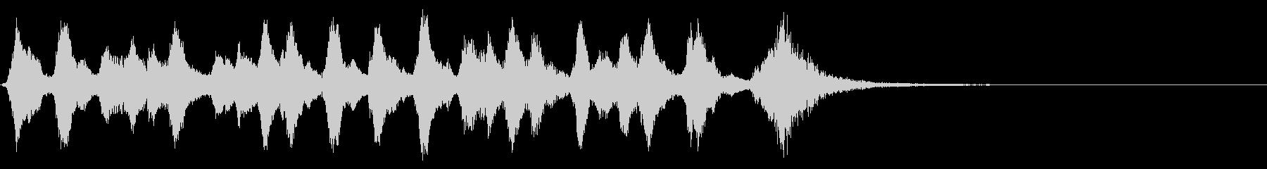 ジングル、弦、可憐、かわいいの未再生の波形
