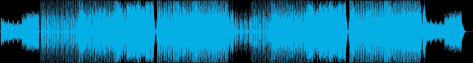 宇宙っぽいダンサブルガールズK-Pop♫の再生済みの波形
