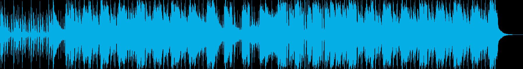 ポップインスト。レゲエのフレーバー...の再生済みの波形