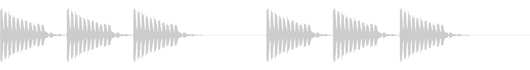 未来的・着信音・通知音・アラーム4の未再生の波形