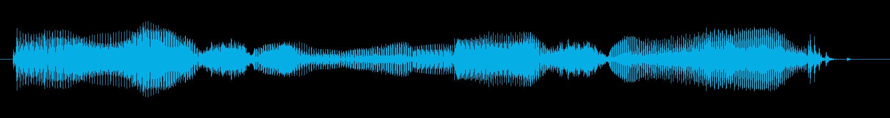 おやすみなさい…の再生済みの波形
