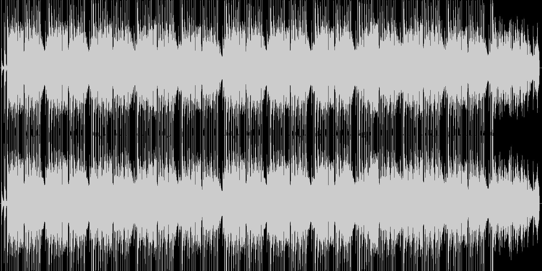 お洒落なチルアウトの未再生の波形