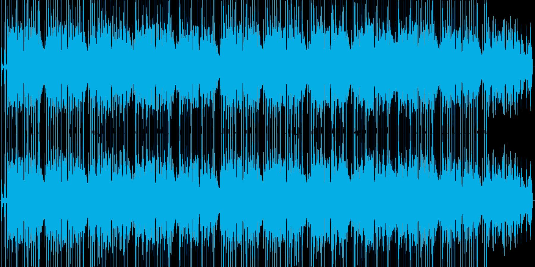 お洒落なチルアウトの再生済みの波形