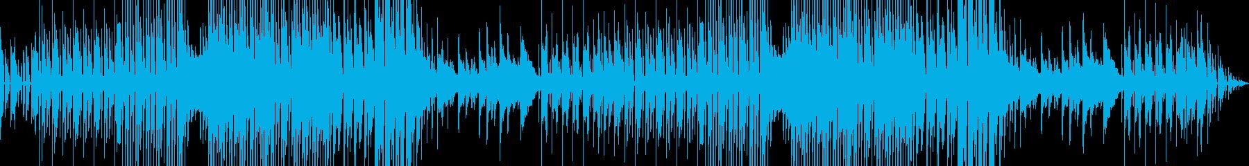 ファンクなエレクトロスウィング風ジャズの再生済みの波形