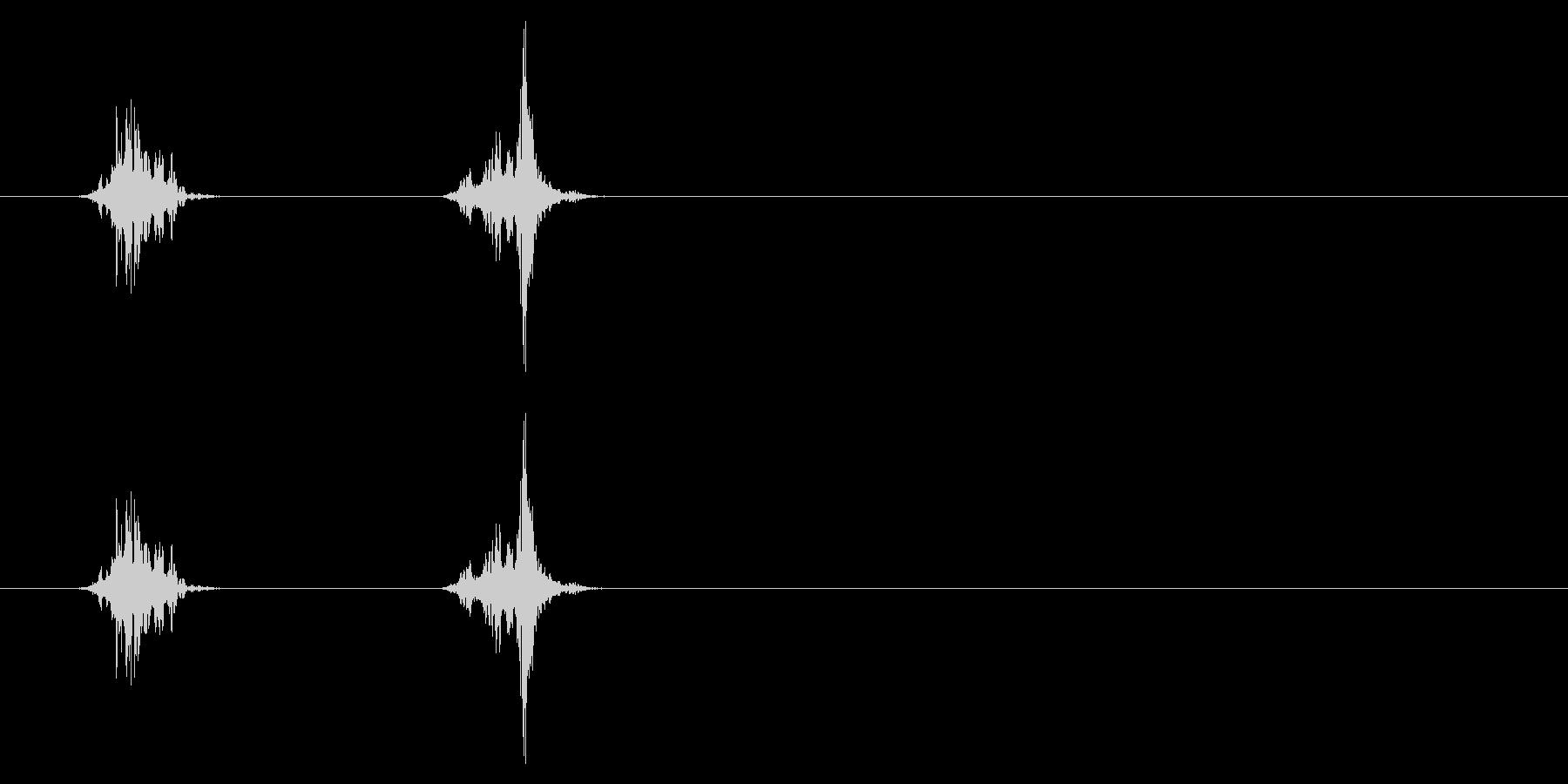 PC マウス04-21(スクロール 速)の未再生の波形