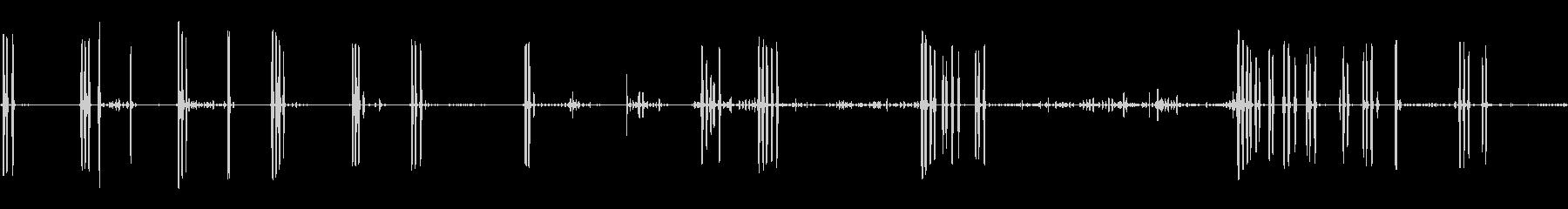 小さなダックスフント:Barえる、...の未再生の波形