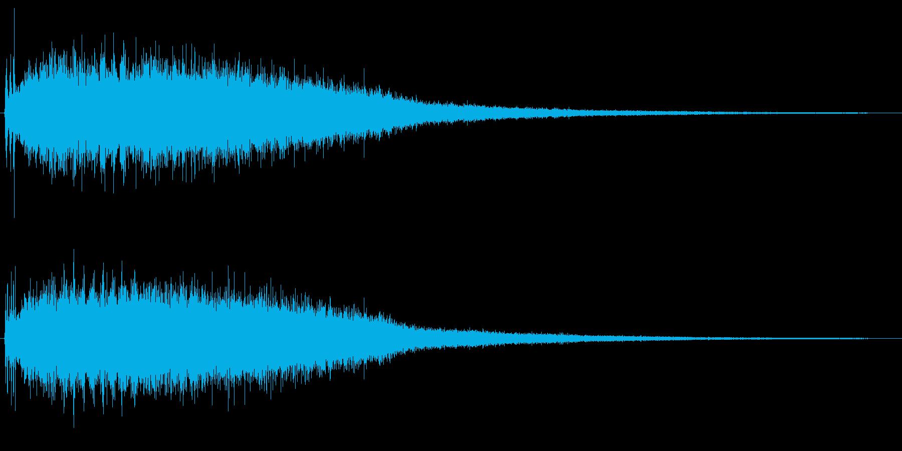 シャラララ…(流星)の再生済みの波形
