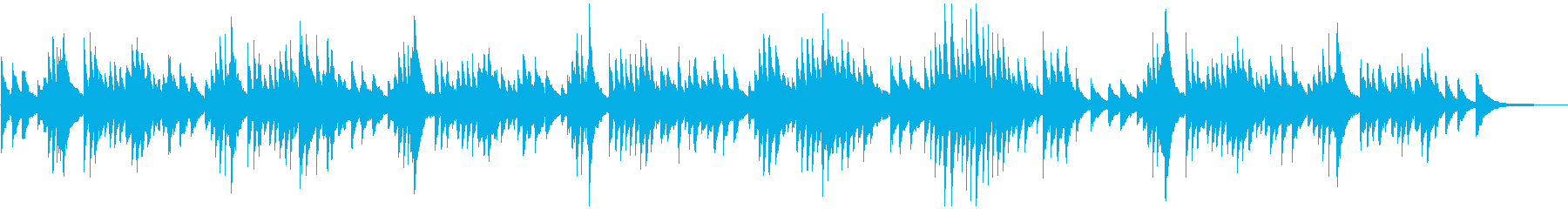 シューマンのトロイメライです。の再生済みの波形