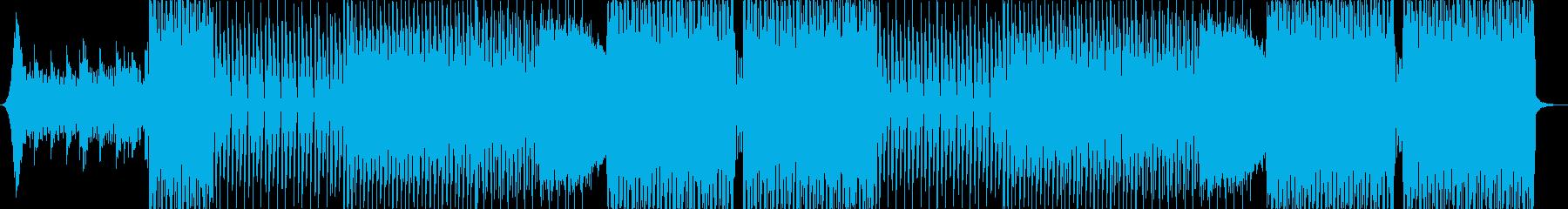 元気が出る前向きなEDMポップスの再生済みの波形
