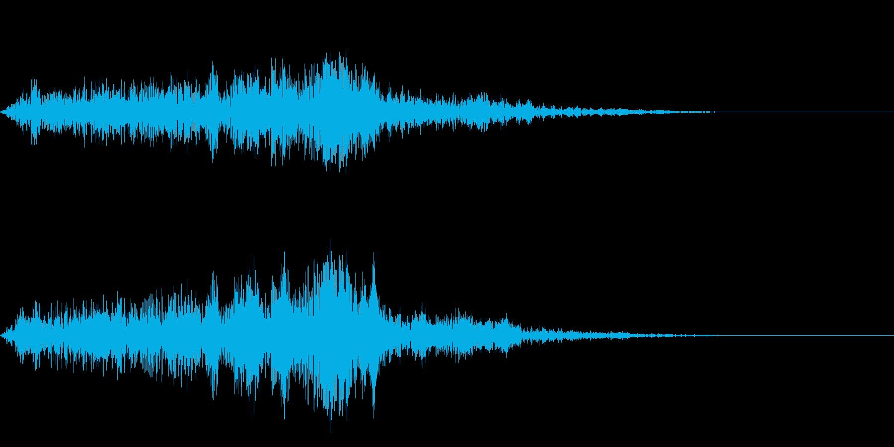 コォーーーー(ブレス)の再生済みの波形