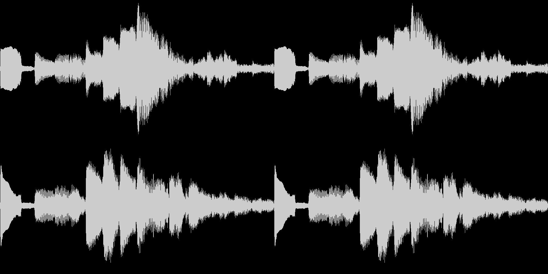 k014 アラーム音(ループ仕様)の未再生の波形