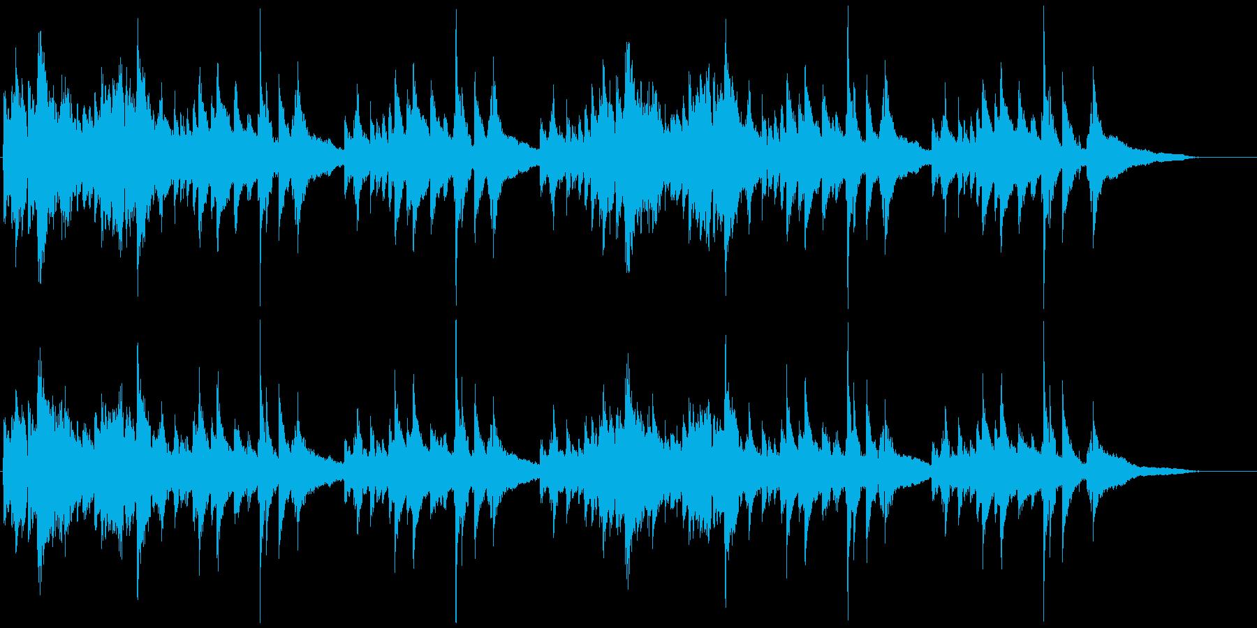 アップテンポ系/クラシックギターの独奏の再生済みの波形