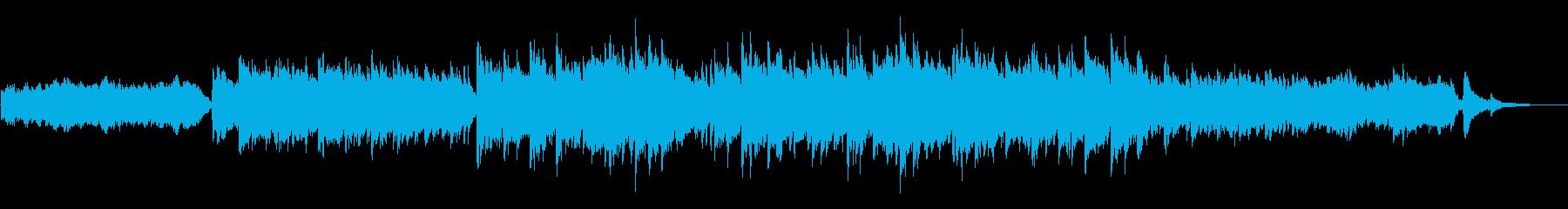 感動した日のBGMの再生済みの波形