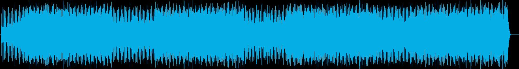 真実に迫るようなシンセポップス曲の再生済みの波形