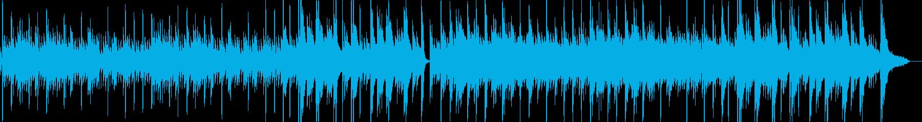 アコギの優しくて温かみのあるBGMの再生済みの波形