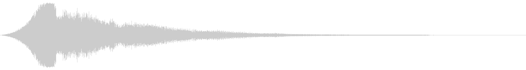 【タイトルロゴ】シネマティック_04の未再生の波形